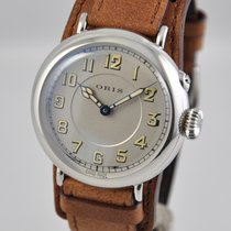 Oris Big Crown 1917 Limited Edition Acier 40mm Argent Arabes