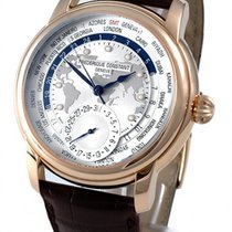 Frederique Constant Manufacture Worldtimer Steel 42mm Silver