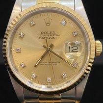 Rolex Datejust Oro/Acciaio 36mm Oro