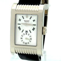 Rolex 5441/9 White gold 2005 Cellini Prince 27mm pre-owned