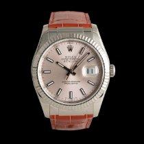 Rolex Datejust White gold 36mm Pink