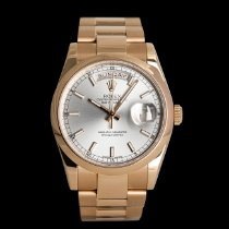 Rolex Red gold Automatic 36mm pre-owned Day-Date 36