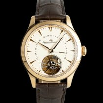 Jaeger-LeCoultre Master Date Tourbillon 39 Red gold 39mm Silver