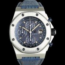 Audemars Piguet Royal Oak Offshore Chronograph Acier 42mm Bleu