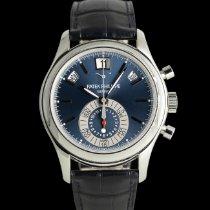 Patek Philippe Annual Calendar Chronograph Platino 40mm Azul