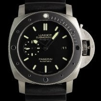 Panerai Luminor Submersible 1950 3 Days Automatic Titanium 44mm Black