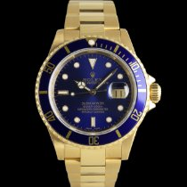 Rolex Submariner Date 16618 New Yellow gold 40mm Automatic
