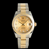 Rolex Lady-Datejust Acero y oro 31mm Champán