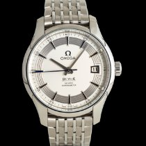 Omega De Ville Co-Axial Steel 41mm Silver