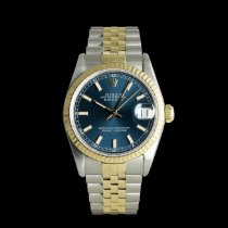 Rolex Lady-Datejust Gold/Steel 31mm Blue