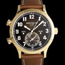 Patek Philippe Travel Time Rotgold 42mm Braun