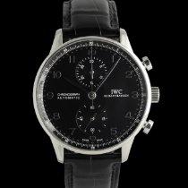 IWC Portuguese Chronograph occasion 40mm Noir