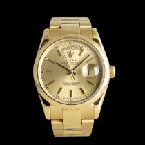 Rolex pre-owned Automatic 36mm Champagne