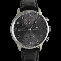 IWC Portuguese Chronograph White gold 41mm Grey