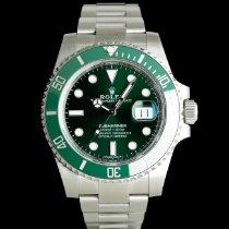 Rolex Submariner Date Otel 40mm Verde