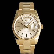 Rolex 118238 Gelbgold 2001 Day-Date 36 36mm neu