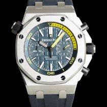 Audemars Piguet Royal Oak Offshore Diver Chronograph Acier 40mm Bleu