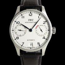 IWC Portuguese Automatic Acero 42mm Plata
