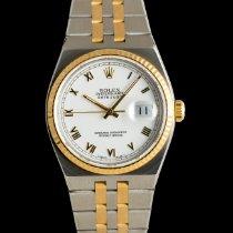 Rolex Datejust Oysterquartz Gold/Steel 36mm White