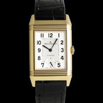 Jaeger-LeCoultre Grande Reverso Night & Day Aur rosu 46mm Argint