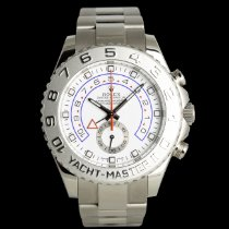 Rolex Yacht-Master II White gold 44mm White