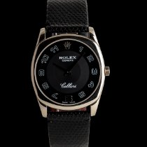 Rolex Cellini Danaos White gold 39mm Black