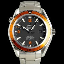 Omega Seamaster Planet Ocean Steel 45mm Black