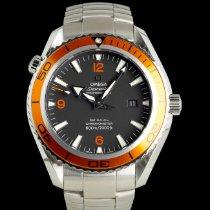 Omega Seamaster Planet Ocean подержанные 45mm Чёрный