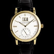 A. Lange & Söhne Langematik Yellow gold 37mm Silver