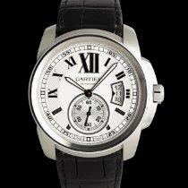 Cartier Calibre de Cartier Stahl 42mm Silber