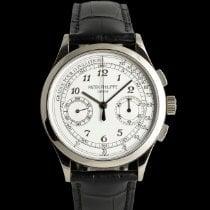 Patek Philippe Chronograph neu 2014 Handaufzug Chronograph Uhr mit Original-Box und Original-Papieren 5170G