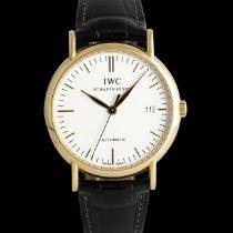 IWC Portofino Automatic Červené zlato 39mm Bílá