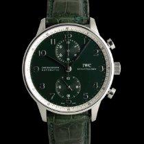 IWC Portuguese Chronograph Acero 41mm Verde