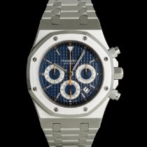 Audemars Piguet Royal Oak Chronograph Acero 39mm Azul