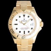 Rolex Yacht-Master Zuto zlato 40mm Bjel