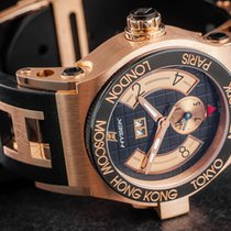 Jorg Hysek Or rose 44mm Remontage automatique Abyss occasion