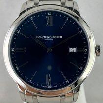 Baume & Mercier Classima Acero 40mm Azul