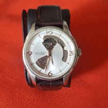 Hamilton Jazzmaster Open Heart occasion 40mm Champagne Cuir
