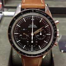 Omega Speedmaster Professional Moonwatch Zeljezo 39.7mm Crn Bez brojeva