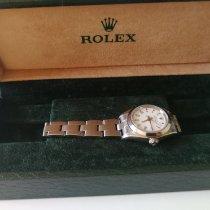 Rolex Oyster Perpetual 26 Zeljezo 26mm Bjel Rimski brojevi