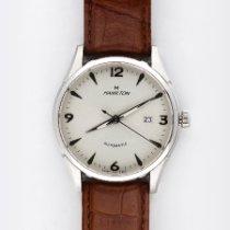 Hamilton Thin-O-Matic Steel 42mm White Arabic numerals