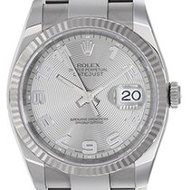 Rolex Datejust Gold/Steel 36mm Silver Arabic numerals