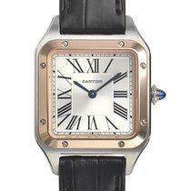 Cartier Santos Dumont new 2020 Quartz Watch with original box and original papers W2SA0012