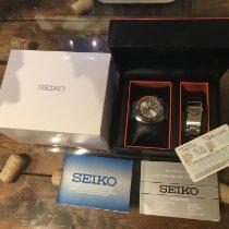 Seiko Prospex Acier 45mm Gris Sans chiffres