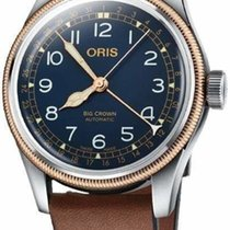 Oris Big Crown Pointer Date Steel 40mm Blue Arabic numerals United States of America, Texas, FRISCO