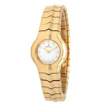 TAG Heuer Alter Ego Yellow gold 25mm Mother of pearl No numerals United States of America, New York, Greenvale