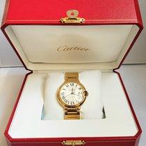 Cartier Жёлтое золото Автоподзавод Cеребро подержанные Ballon Bleu 33mm