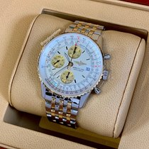 Breitling Old Navitimer Gold/Steel 41mm Silver United States of America, New York, New York