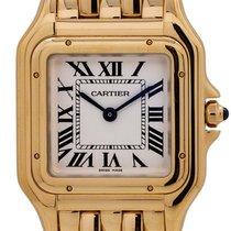 Cartier Yellow gold 24mm Quartz Panthère pre-owned