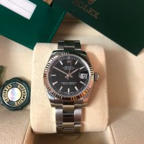 Rolex Lady-Datejust Steel 31mm Black